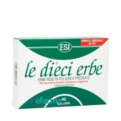 Le dieci erbe tablete a40 ESI