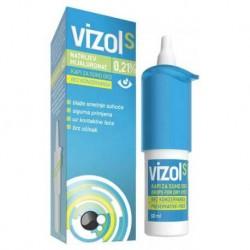 Vizol S 0,21% kapi za oči