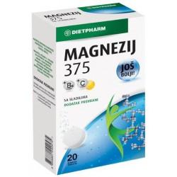 Magnezij 375 +B6+C šumeće...